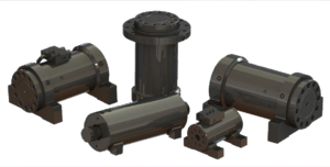Rotary hydraulic actuators